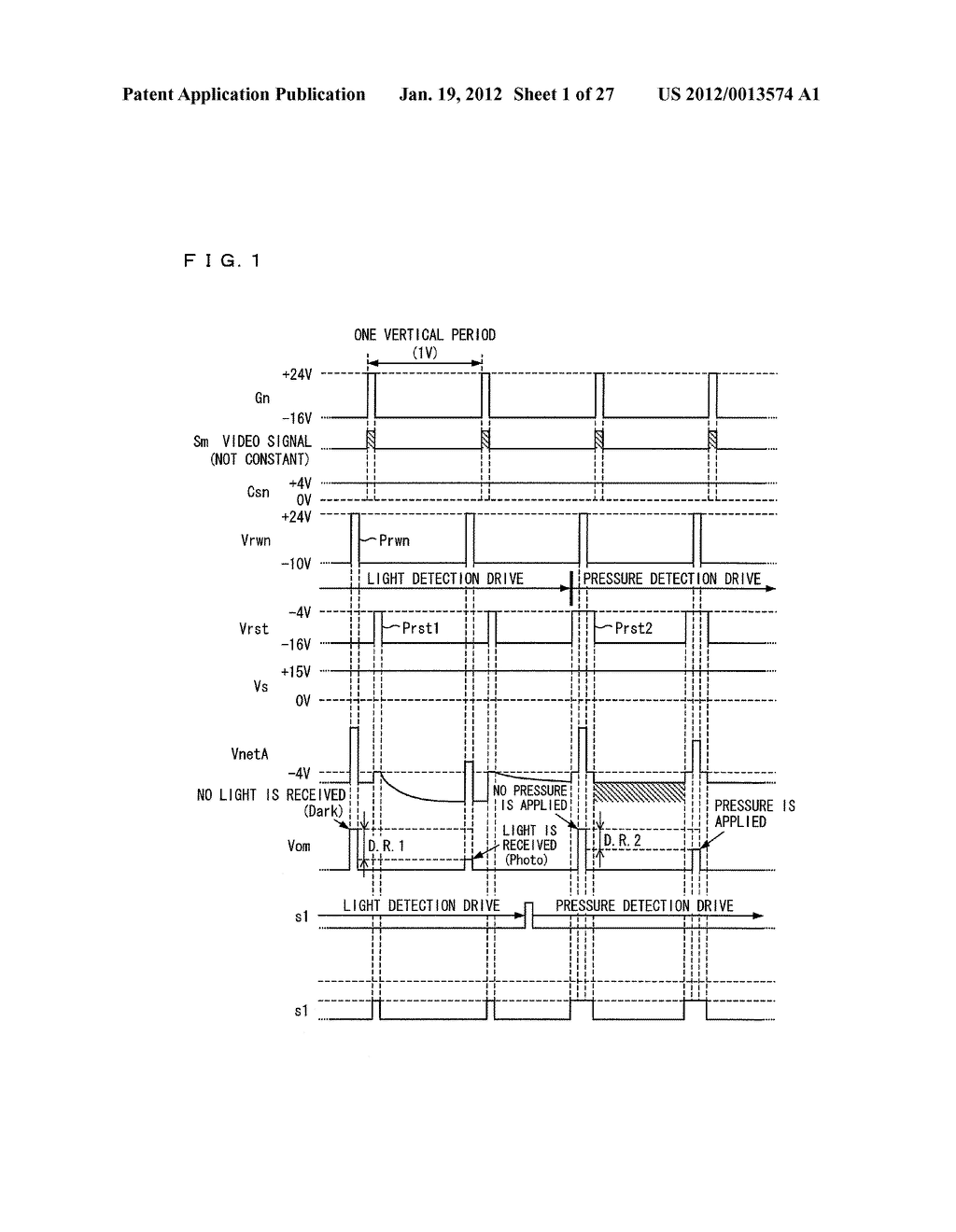 DISPLAY DEVICE AND DRIVING METHOD FOR DISPLAY DEVICE - diagram, schematic, and image 02