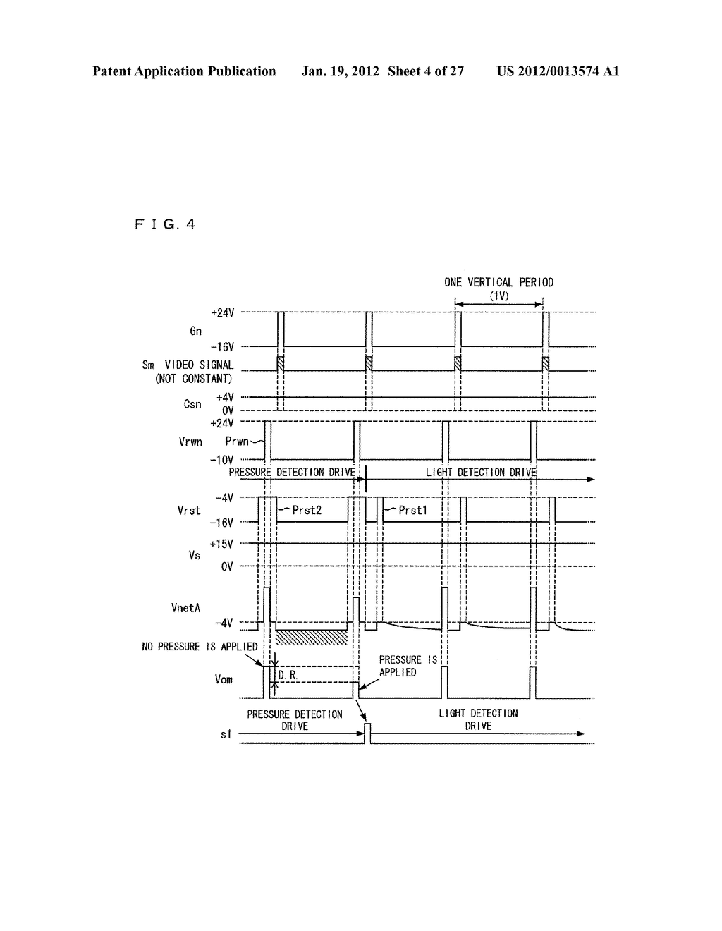 DISPLAY DEVICE AND DRIVING METHOD FOR DISPLAY DEVICE - diagram, schematic, and image 05