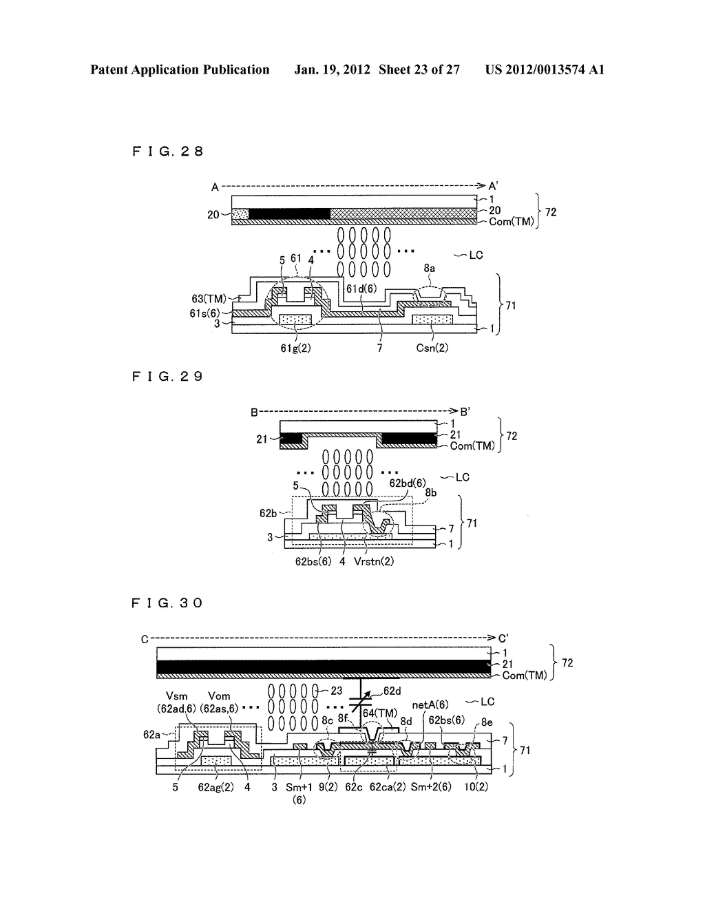 DISPLAY DEVICE AND DRIVING METHOD FOR DISPLAY DEVICE - diagram, schematic, and image 24