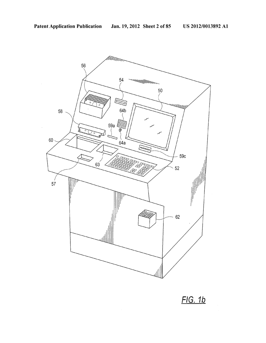 CHECK AND U.S. BANK NOTE PROCESSING DEVICE AND METHOD - diagram, schematic, and image 03