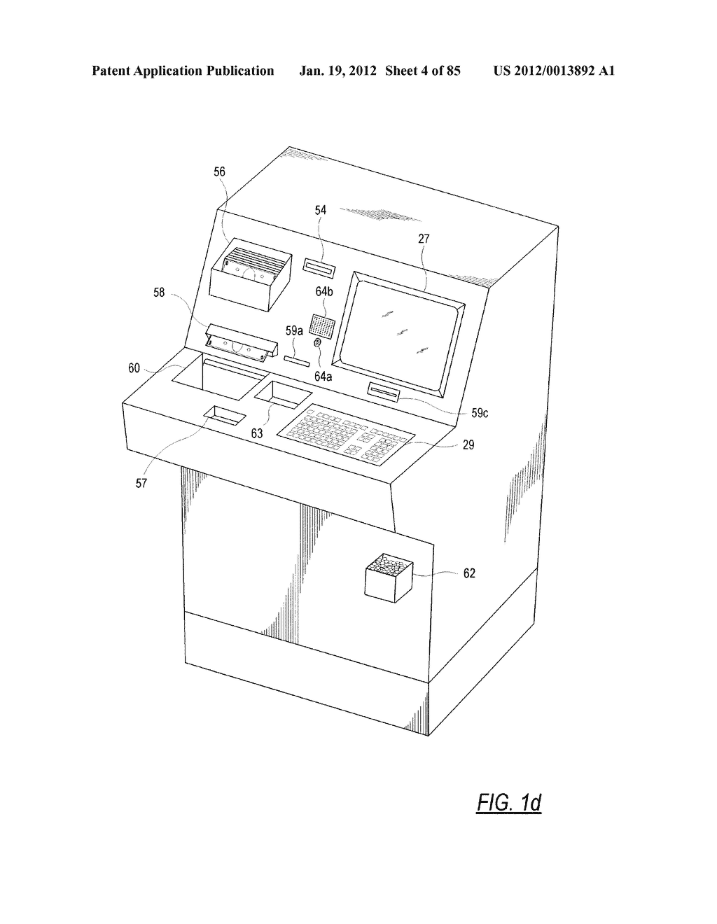 CHECK AND U.S. BANK NOTE PROCESSING DEVICE AND METHOD - diagram, schematic, and image 05