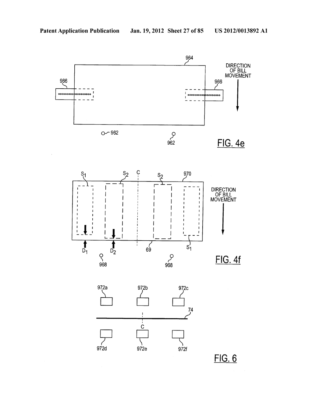 CHECK AND U.S. BANK NOTE PROCESSING DEVICE AND METHOD - diagram, schematic, and image 28