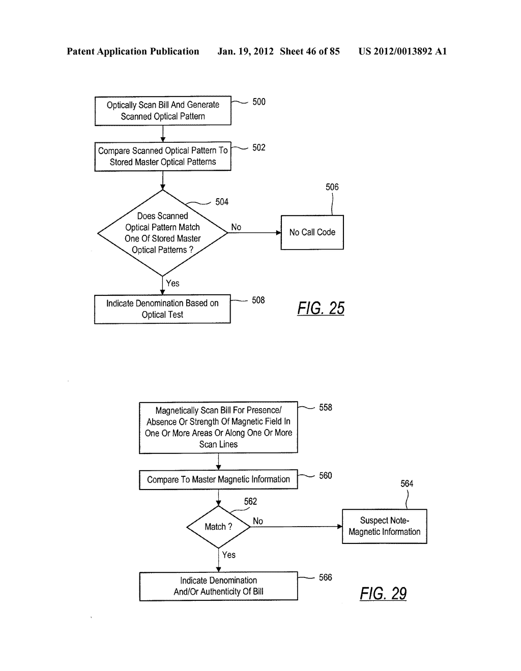 CHECK AND U.S. BANK NOTE PROCESSING DEVICE AND METHOD - diagram, schematic, and image 47