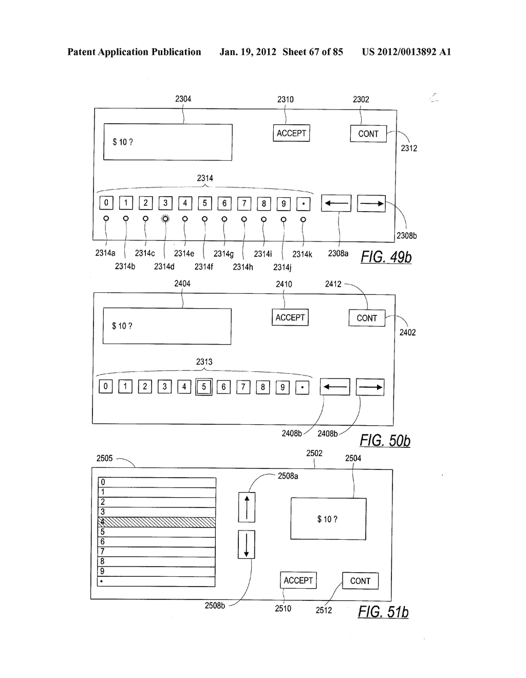 CHECK AND U.S. BANK NOTE PROCESSING DEVICE AND METHOD - diagram, schematic, and image 68