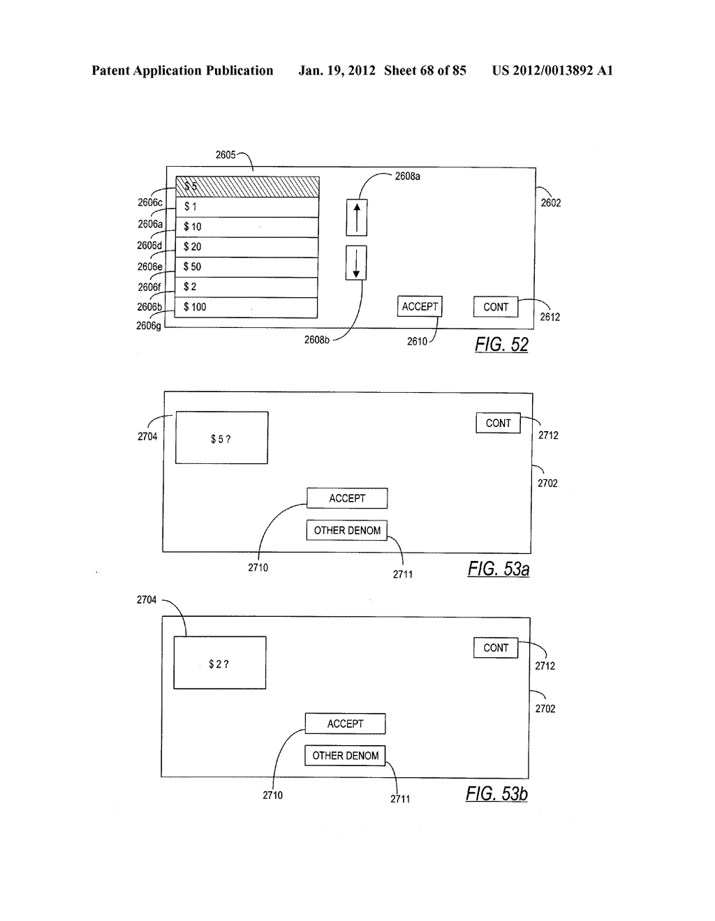 CHECK AND U.S. BANK NOTE PROCESSING DEVICE AND METHOD - diagram, schematic, and image 69