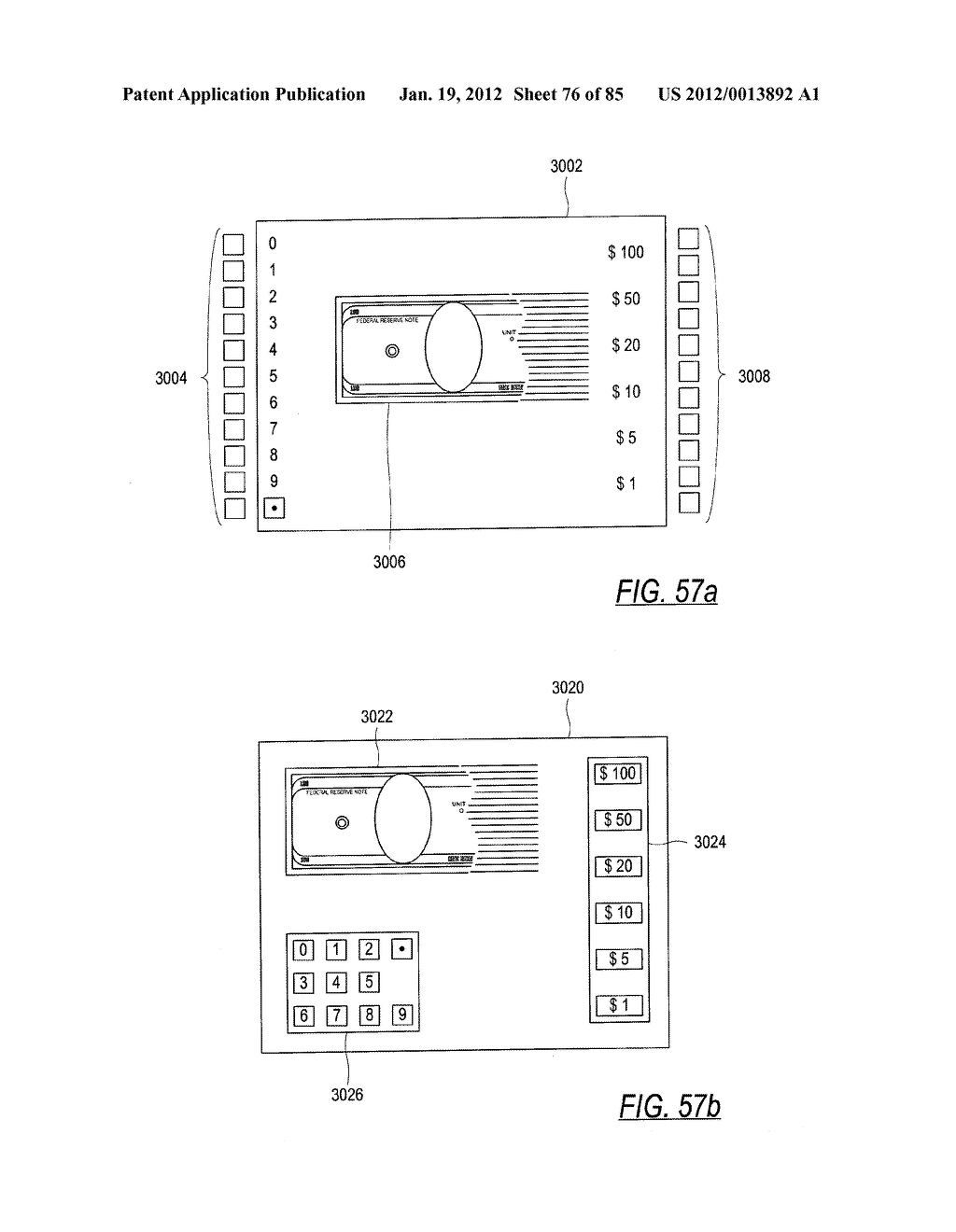 CHECK AND U.S. BANK NOTE PROCESSING DEVICE AND METHOD - diagram, schematic, and image 77