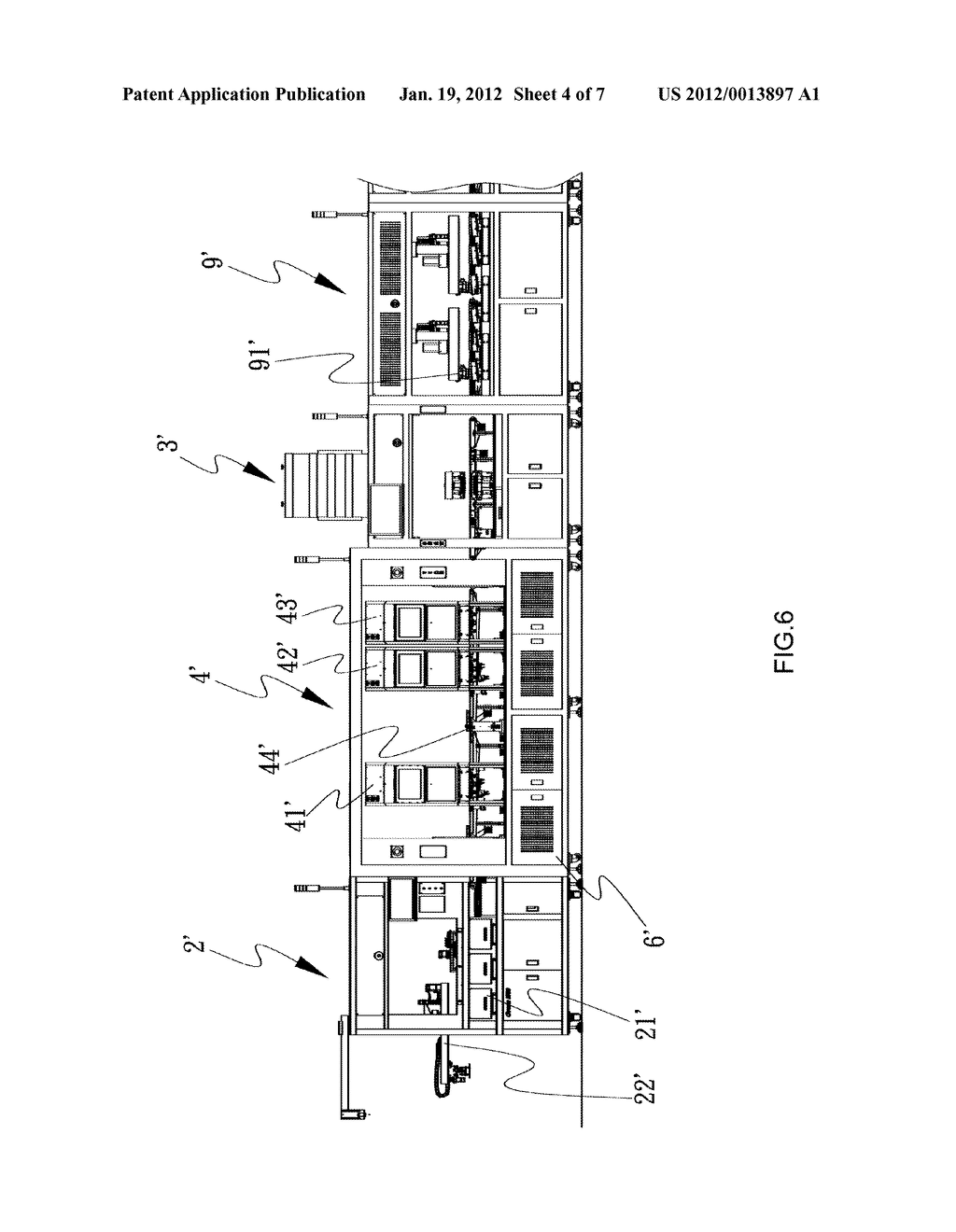 DISTANCE ADJUSTMENT SYSTEM FOR USE IN SOLAR WAFER INSPECTION MACHINE AND     INSPECTION MACHINE PROVIDED WITH SAME - diagram, schematic, and image 05