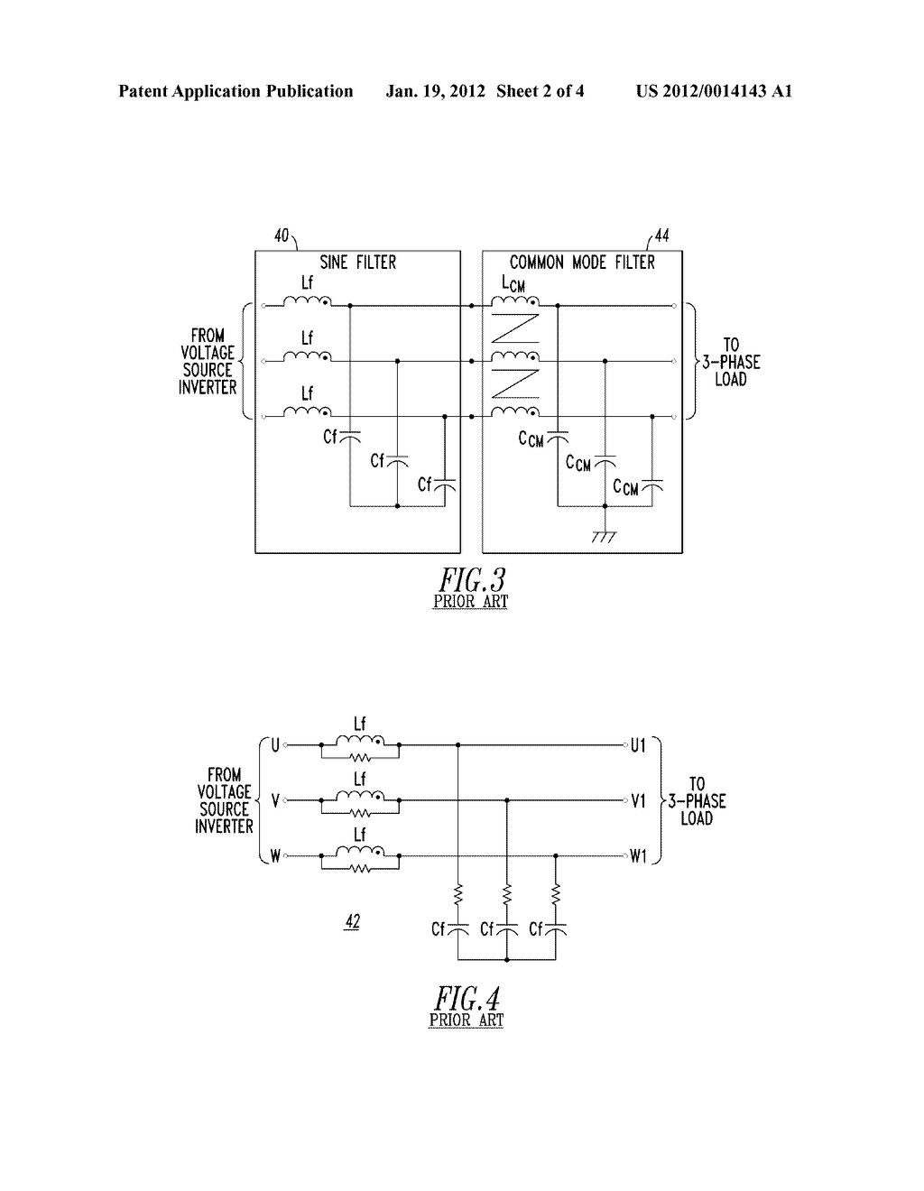 INVERTER FILTER INCLUDING DIFFERENTIAL MODE AND COMMON MODE, AND SYSTEM     INCLUDING THE SAME - diagram, schematic, and image 03