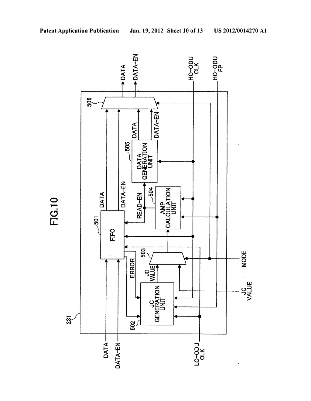 Frame signal generating method and frame signal generating device - diagram, schematic, and image 11