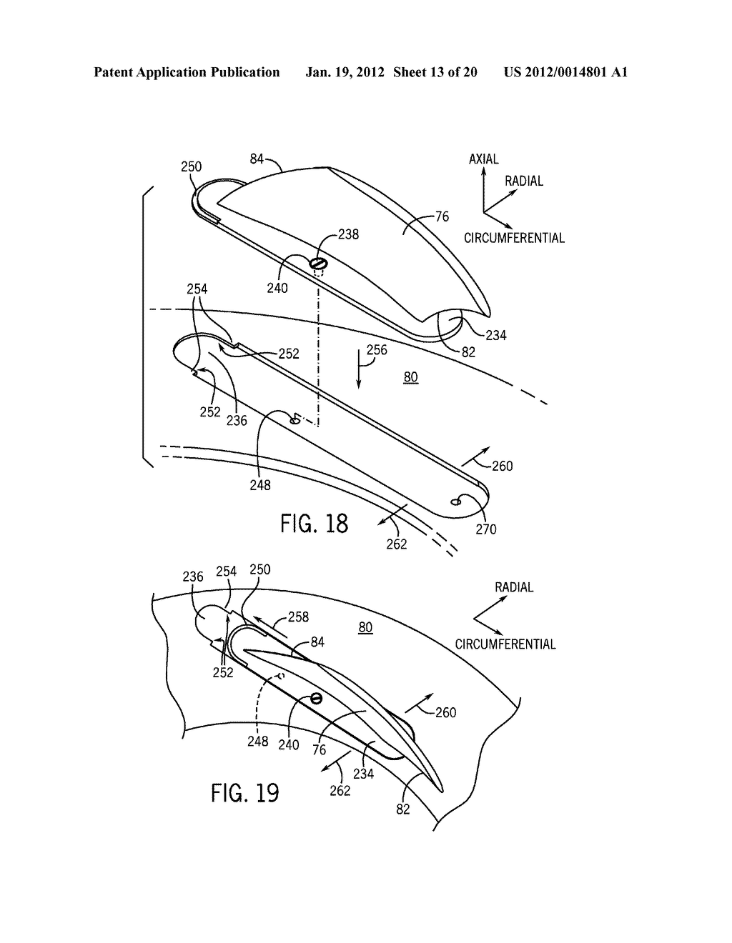 DIFFUSER HAVING DETACHABLE VANES WITH POSITIVE LOCK - diagram, schematic, and image 14