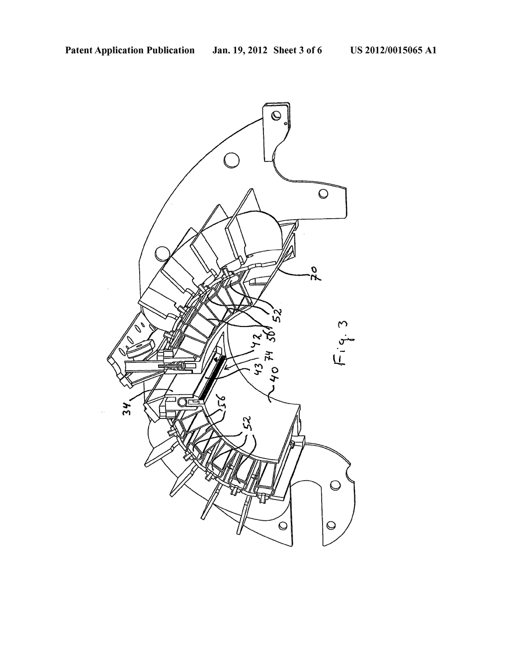 MASS-DISTRIBUTING DEVICE AND MOULDING DEVICE COMPRISING A     MASS-DISTRIBUTING DEVICE OF THIS TYPE - diagram, schematic, and image 04
