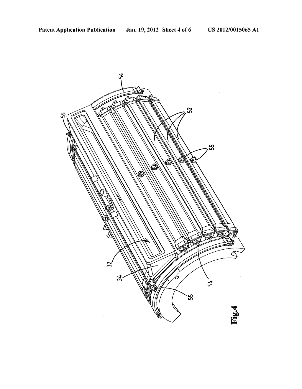MASS-DISTRIBUTING DEVICE AND MOULDING DEVICE COMPRISING A     MASS-DISTRIBUTING DEVICE OF THIS TYPE - diagram, schematic, and image 05