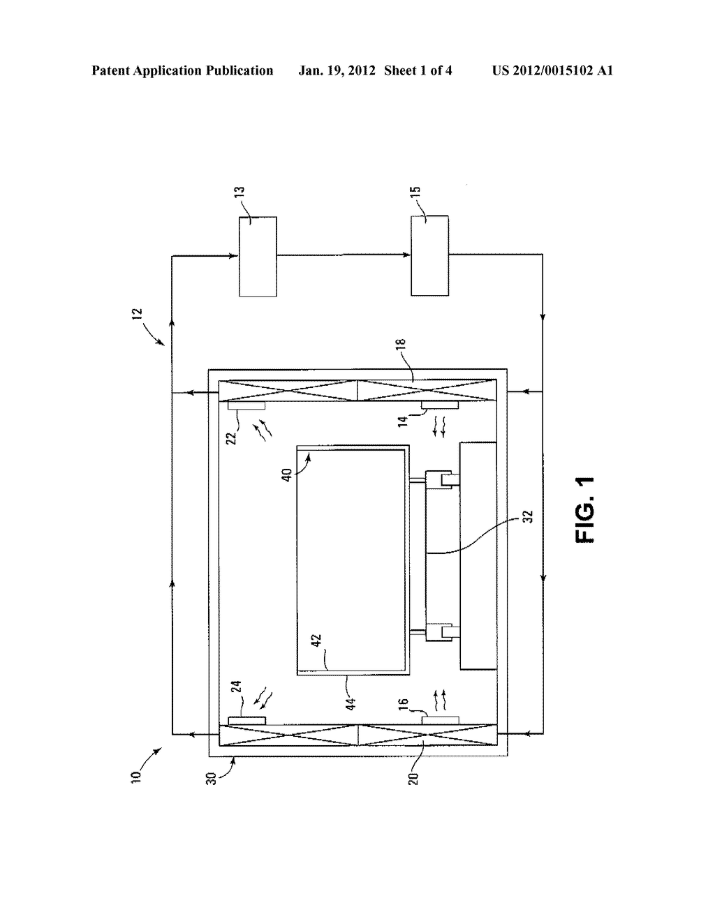 SYSTEM AND METHOD FOR DRYING FIVE-SIDED CONTAINERS - diagram, schematic, and image 02