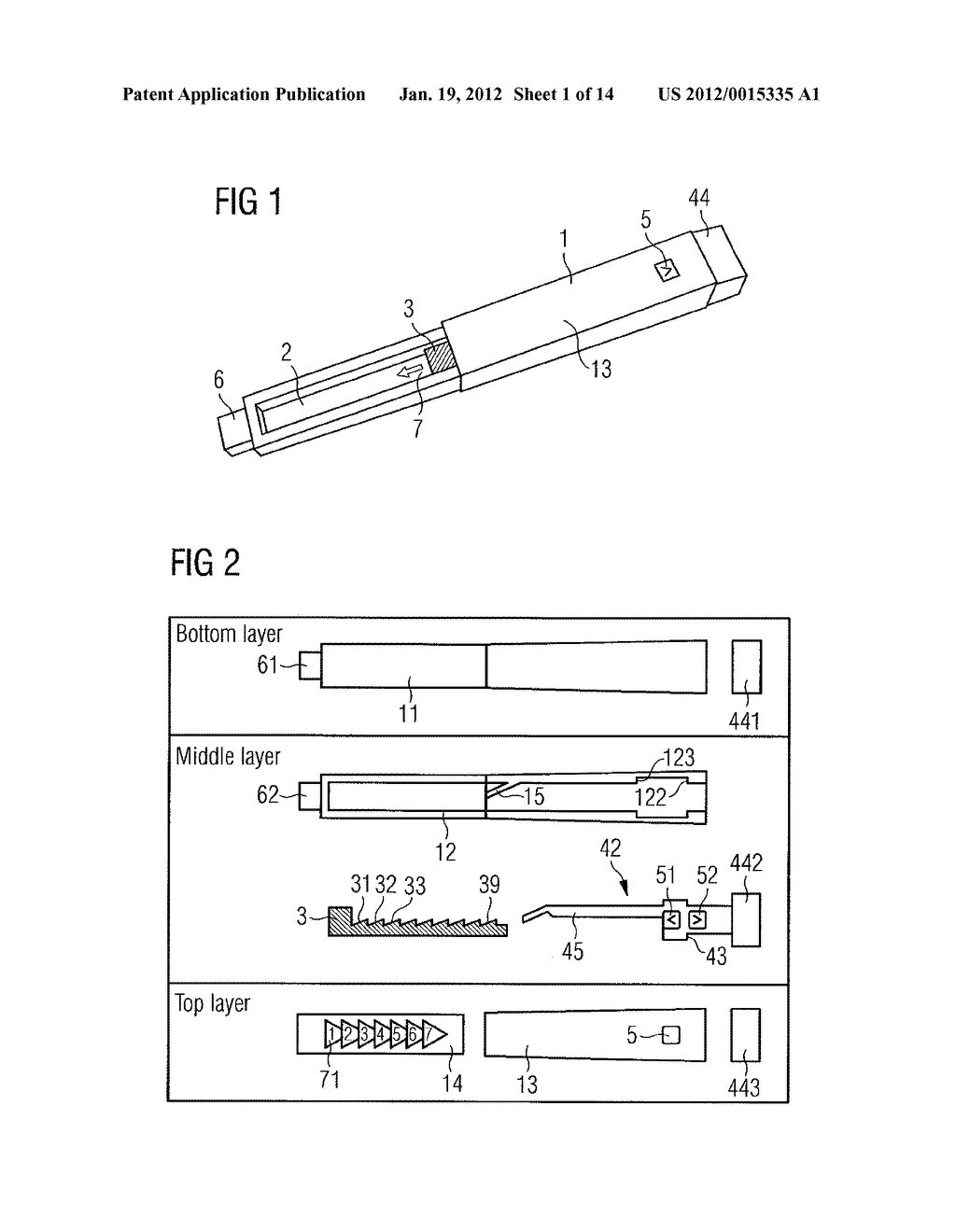 DEVICE FOR SIMULATING THE OPERATION OF A MEDICATION DELIVERY DEVICE - diagram, schematic, and image 02