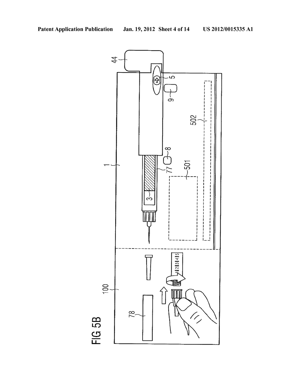 DEVICE FOR SIMULATING THE OPERATION OF A MEDICATION DELIVERY DEVICE - diagram, schematic, and image 05