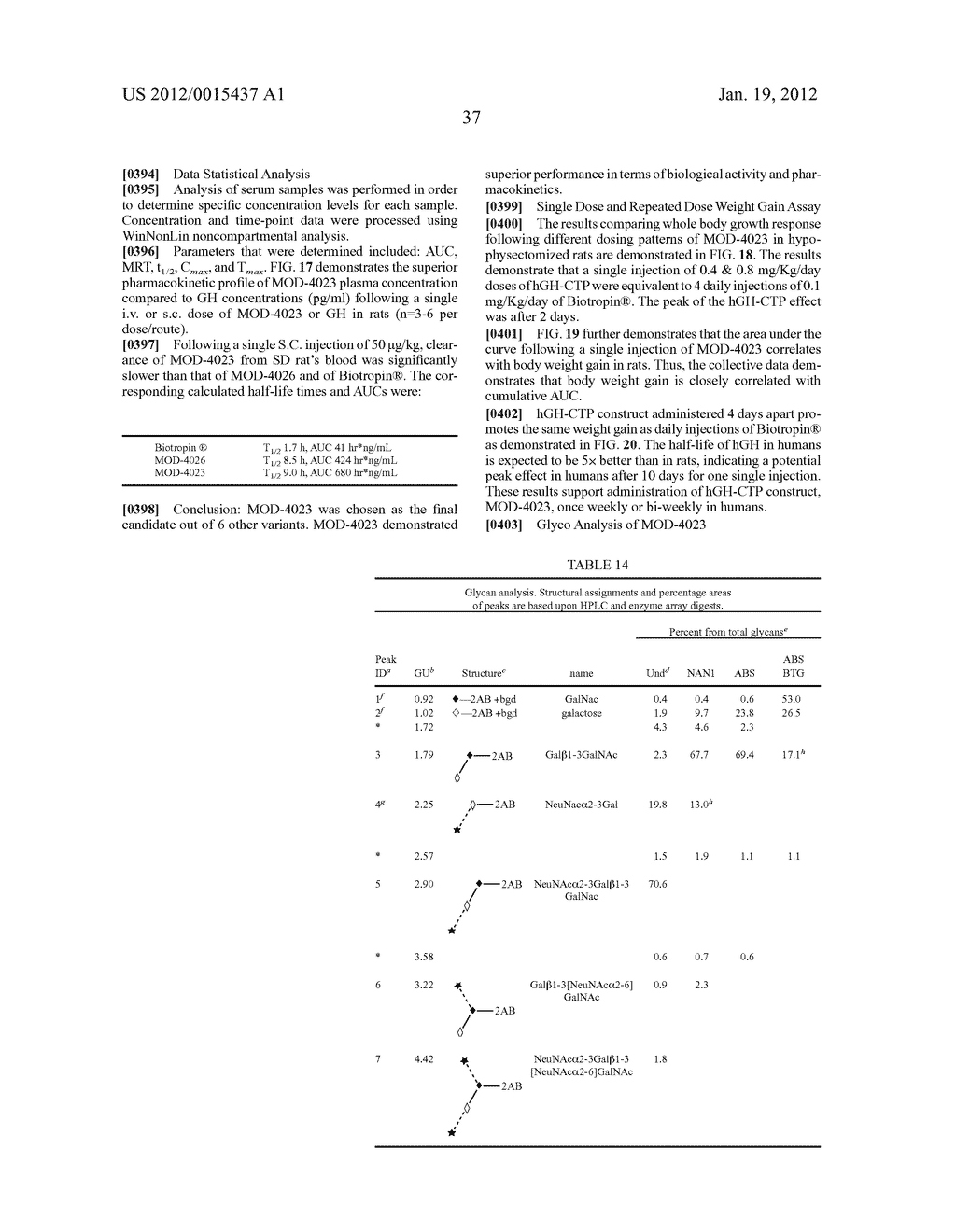 LONG-ACTING POLYPEPTIDES AND METHODS OF PRODUCING SAME - diagram, schematic, and image 56