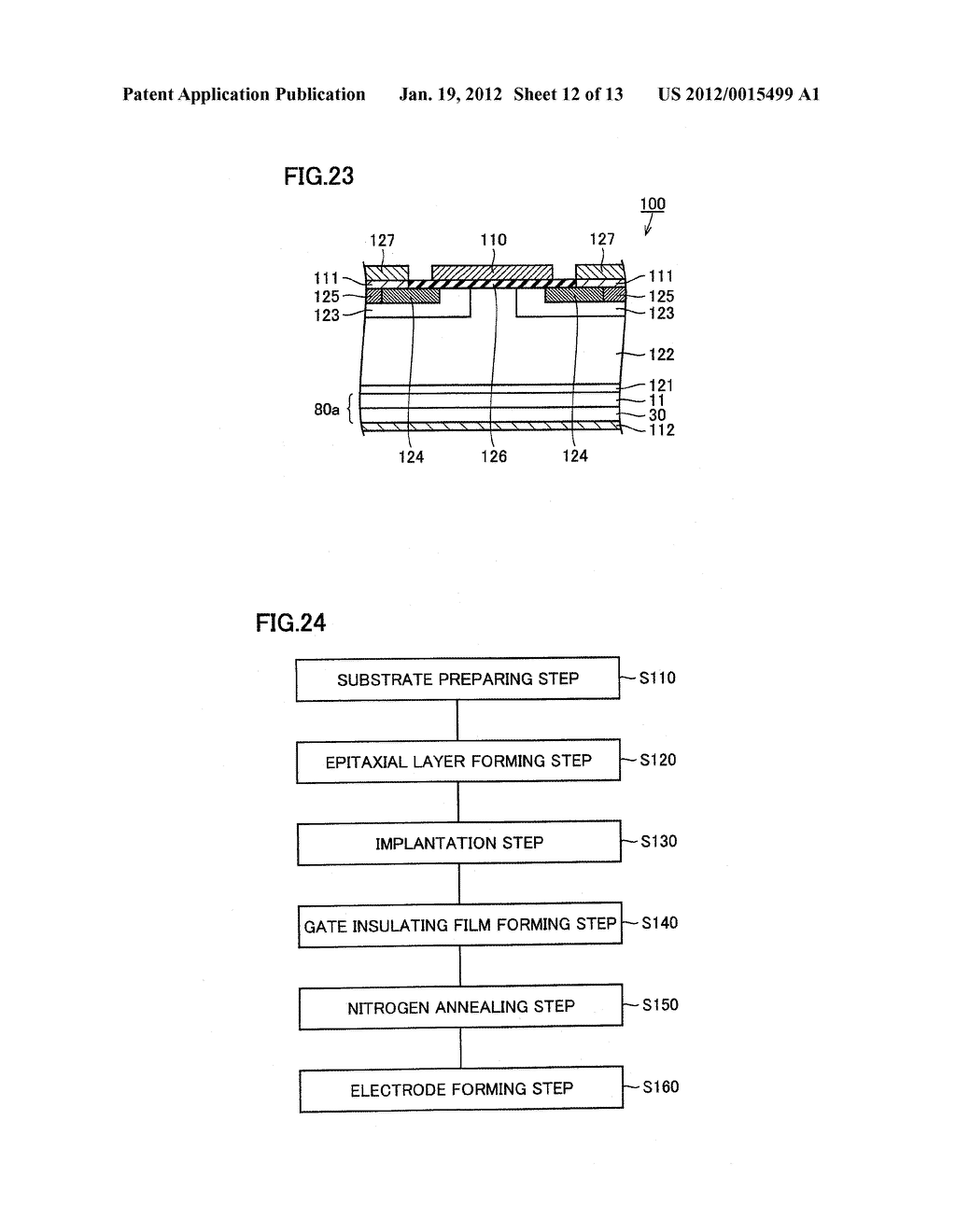 METHOD FOR MANUFACTURING SEMICONDUCTOR SUBSTRATE - diagram, schematic, and image 13