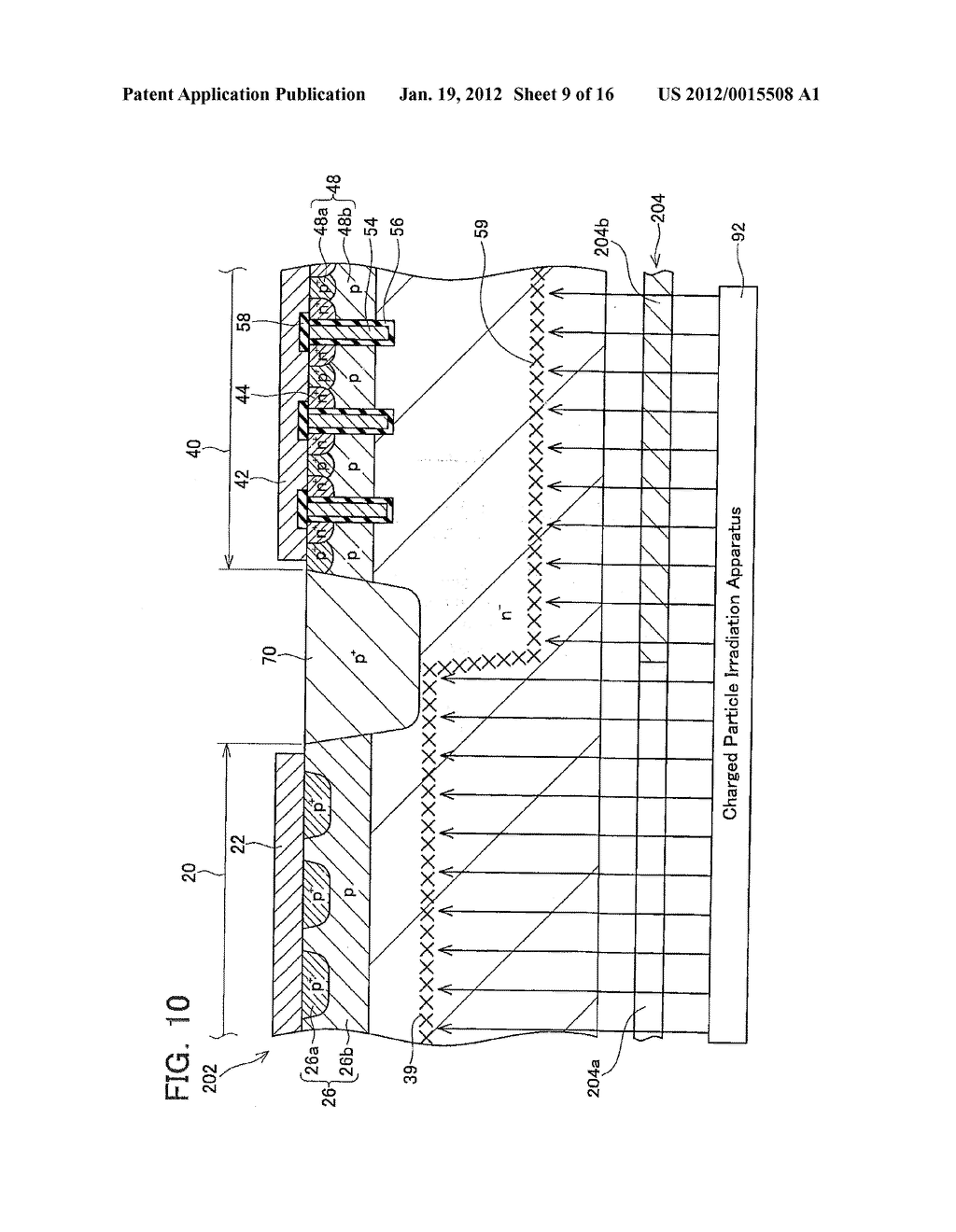 METHOD OF MANUFACTURING SEMICONDUCTOR DEVICE - diagram, schematic, and image 10