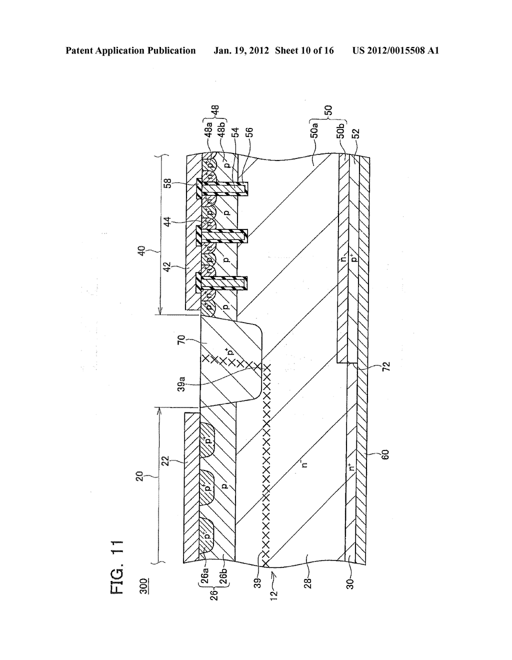 METHOD OF MANUFACTURING SEMICONDUCTOR DEVICE - diagram, schematic, and image 11