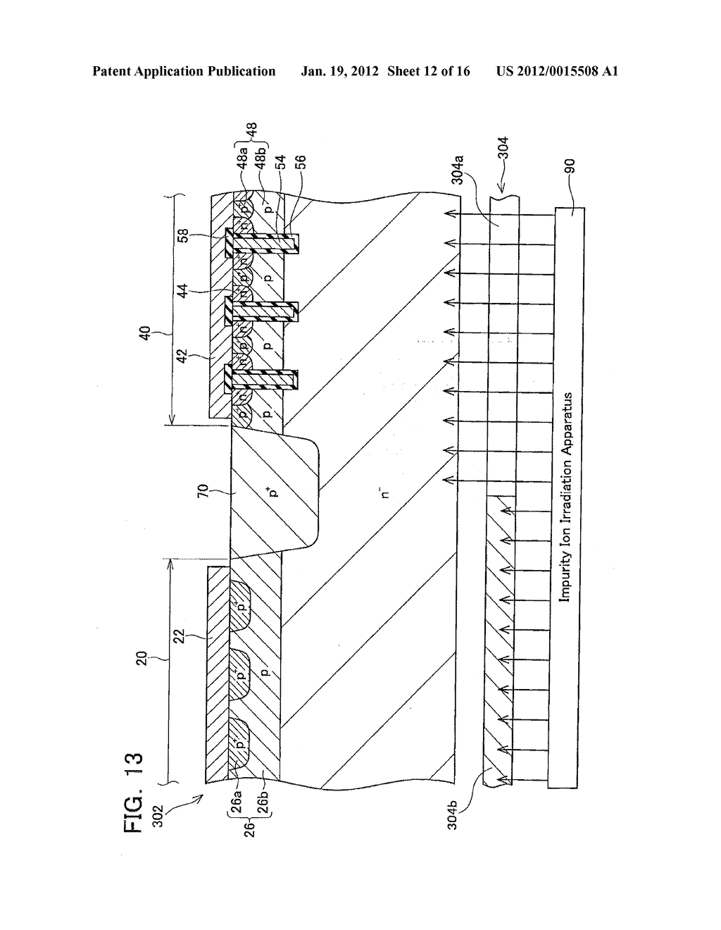 METHOD OF MANUFACTURING SEMICONDUCTOR DEVICE - diagram, schematic, and image 13