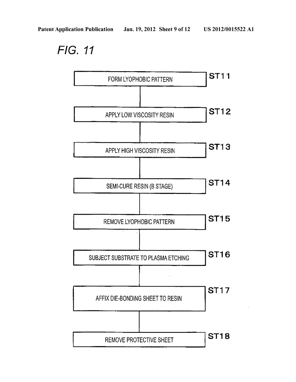 SUBSTRATE PROCESSING METHOD, SEMICONDUCTOR CHIP MANUFACTURING METHOD, AND     RESIN-ADHESIVE-LAYER-BACKED SEMICONDUCTOR CHIP MANUFACTURING METHOD - diagram, schematic, and image 10