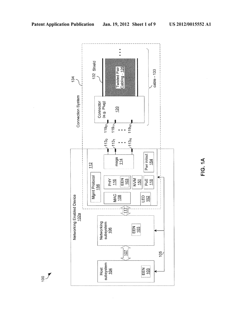 METHOD AND SYSTEM FOR A CONFIGURABLE CONNNECTOR FOR ETHERNET - diagram, schematic, and image 02