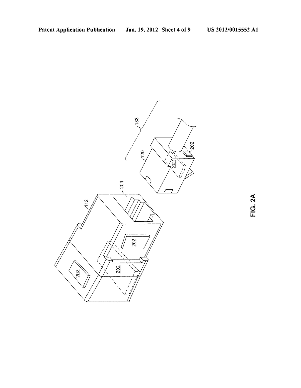 METHOD AND SYSTEM FOR A CONFIGURABLE CONNNECTOR FOR ETHERNET - diagram, schematic, and image 05