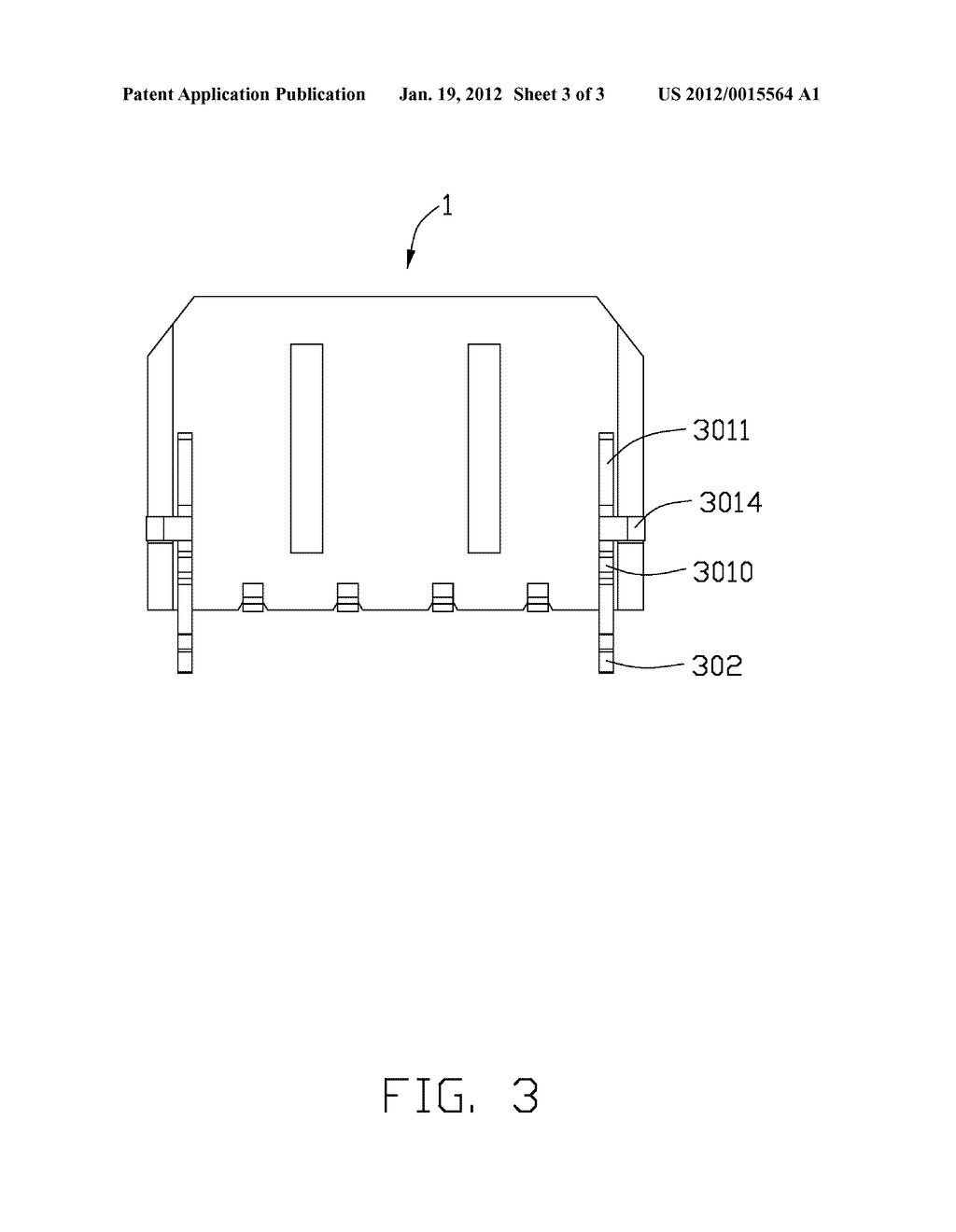 ELECTRICAL CONNECTOR WITH IMPROVED BOARD LOCK AND METHOD OF ASSEMBLING THE     SAME - diagram, schematic, and image 04