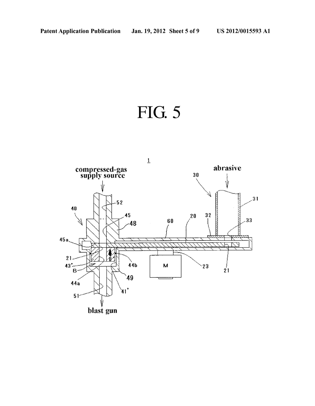 Apparatus for Supplying Constant Amount of Abrasive - diagram, schematic, and image 06