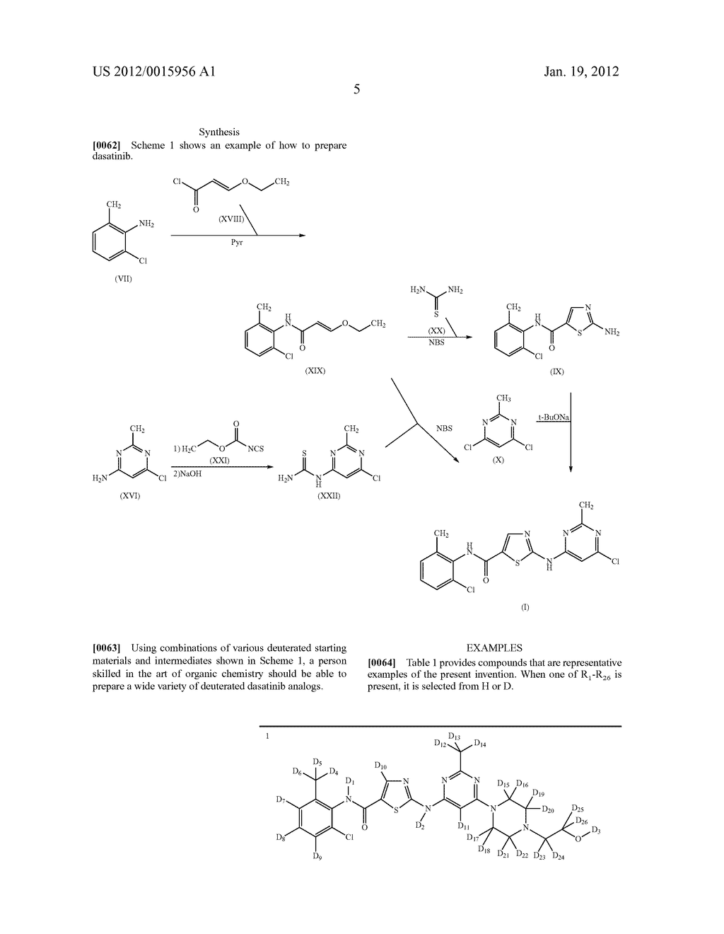 DEUTERIUM-ENRICHED DASATINIB - diagram, schematic, and image 06
