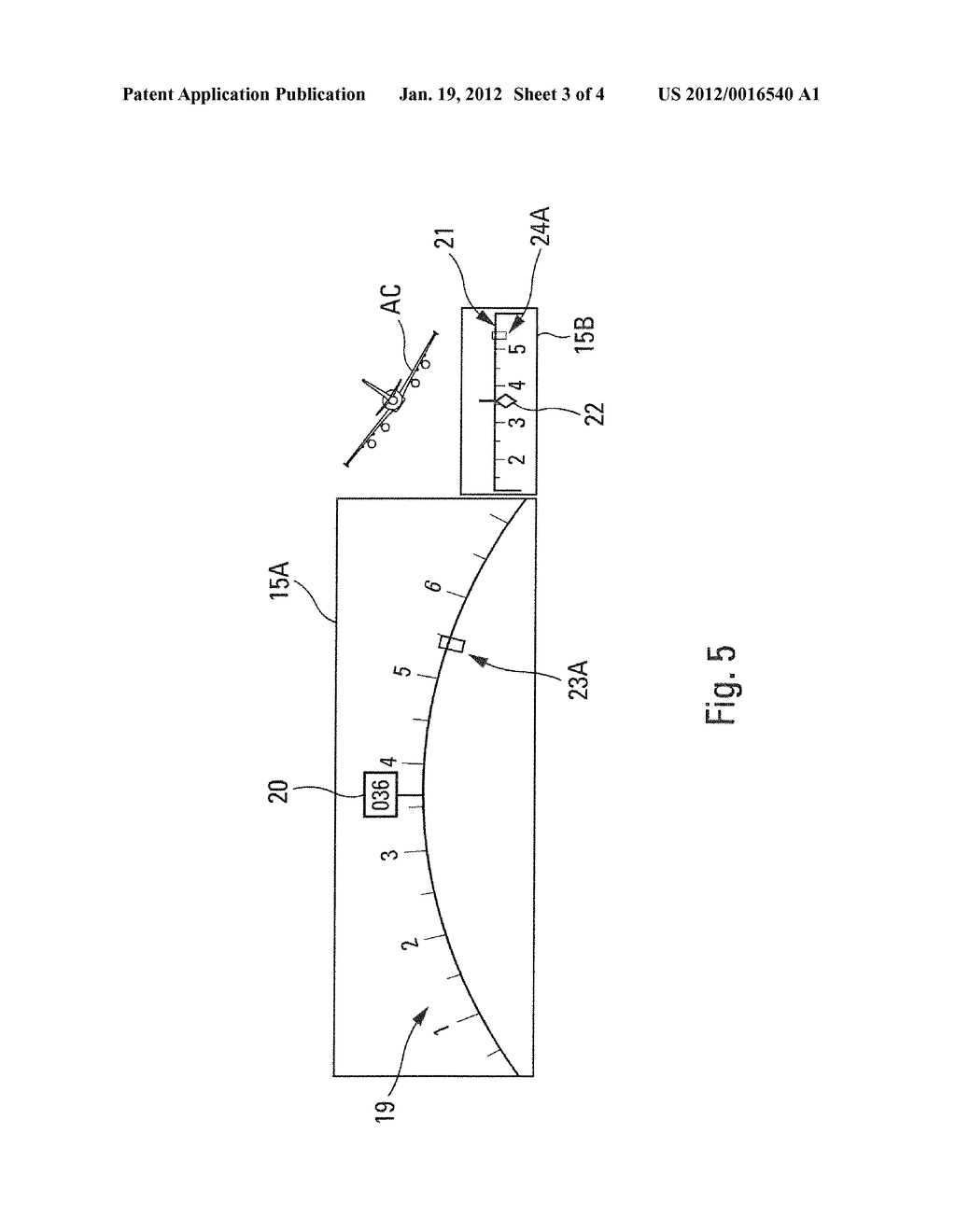 Method And Device For Aiding The Control Of Guiding Modes Transitions Of     An Aircraft - diagram, schematic, and image 04