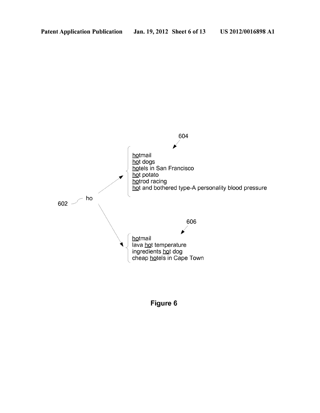 Method and System for URL Autocompletion using Ranked Results - diagram, schematic, and image 07