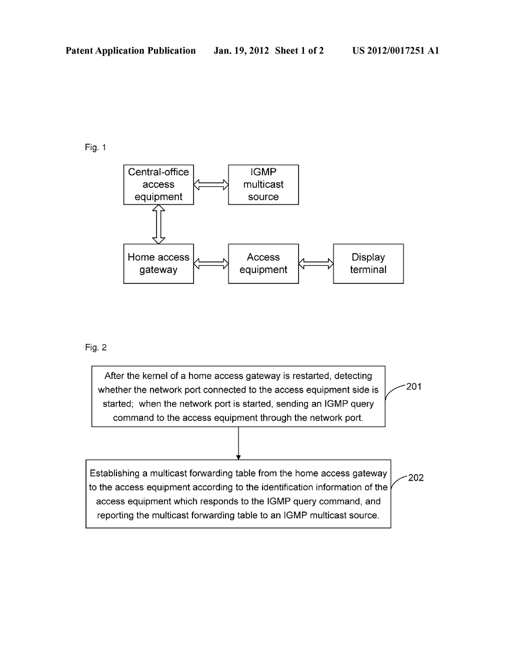 Method and device for reducing interruption time of internet protocol     television multicast stream - diagram, schematic, and image 02