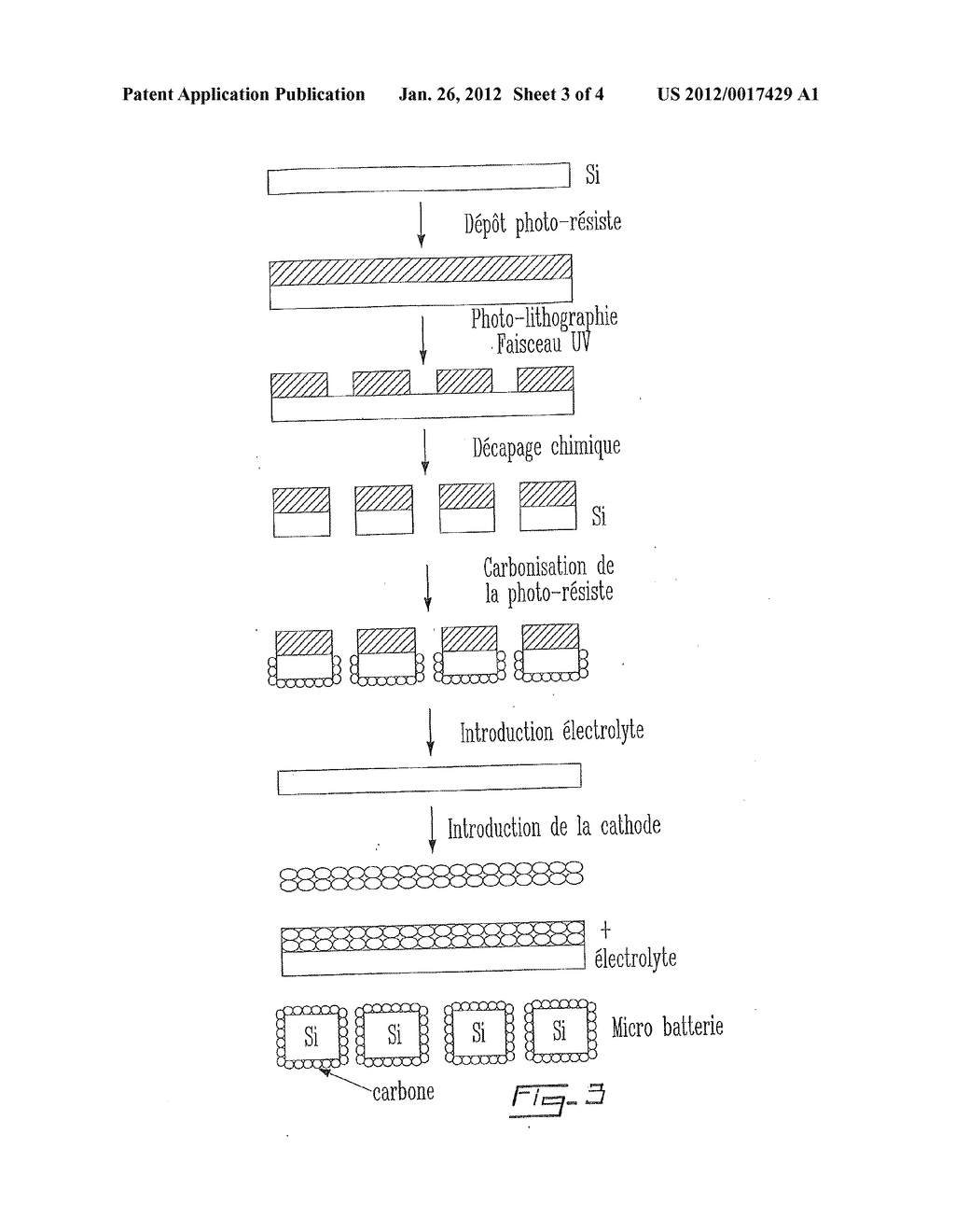 Process for the Preparation of an Electrode from a Porous Material,     Electrode Thus Obtained and Corresponding Electrochemical System - diagram, schematic, and image 04