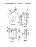 EXTERIOR SIDING MOUNTING BRACKETS WITH A WATER DIVERSION DEVICE diagram and image