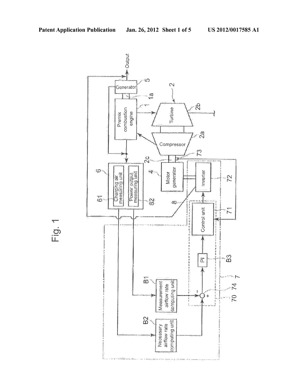 CONTROL DEVICE OF PREMIX COMBUSTION ENGINE - diagram, schematic, and image 02