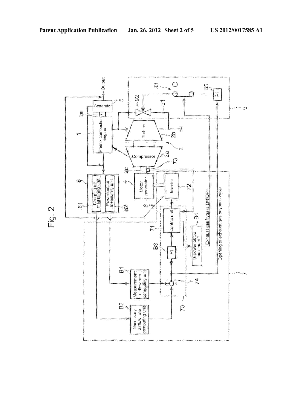 CONTROL DEVICE OF PREMIX COMBUSTION ENGINE - diagram, schematic, and image 03