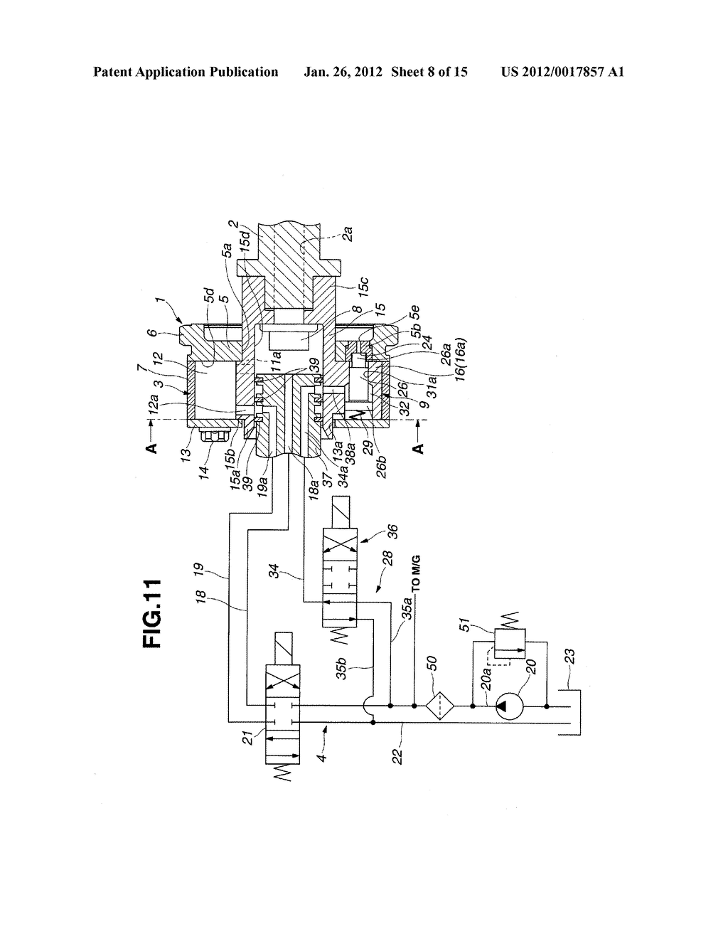 VALVE TIMING CONTROL DEVICE OF INTERNAL COMBUSTION ENGINE - diagram, schematic, and image 09