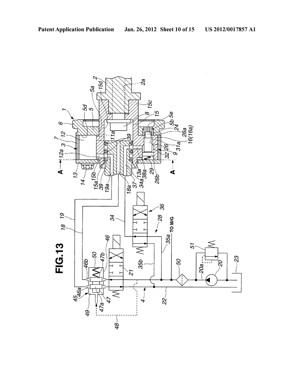 VALVE TIMING CONTROL DEVICE OF INTERNAL COMBUSTION ENGINE - diagram, schematic, and image 11