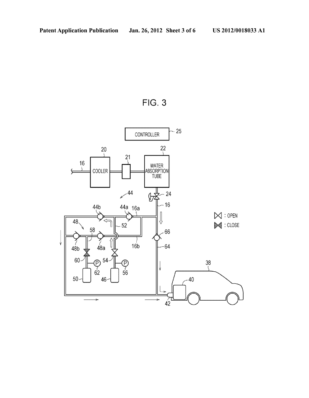 HYDROGEN FILLING SYSTEM AND METHOD OF OPERATING THE SAME - diagram, schematic, and image 04
