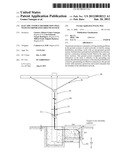 ELECTRIC ENERGY DISTRIBUTION POLE WITH INCORPORATED GROUND SYSTEM diagram and image