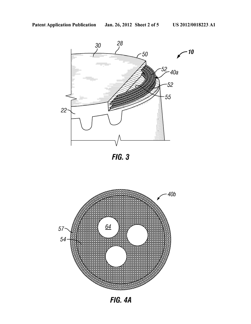 POLYCRYSTALLINE DIAMOND CUTTING ELEMENT AND METHOD OF USING SAME - diagram, schematic, and image 03