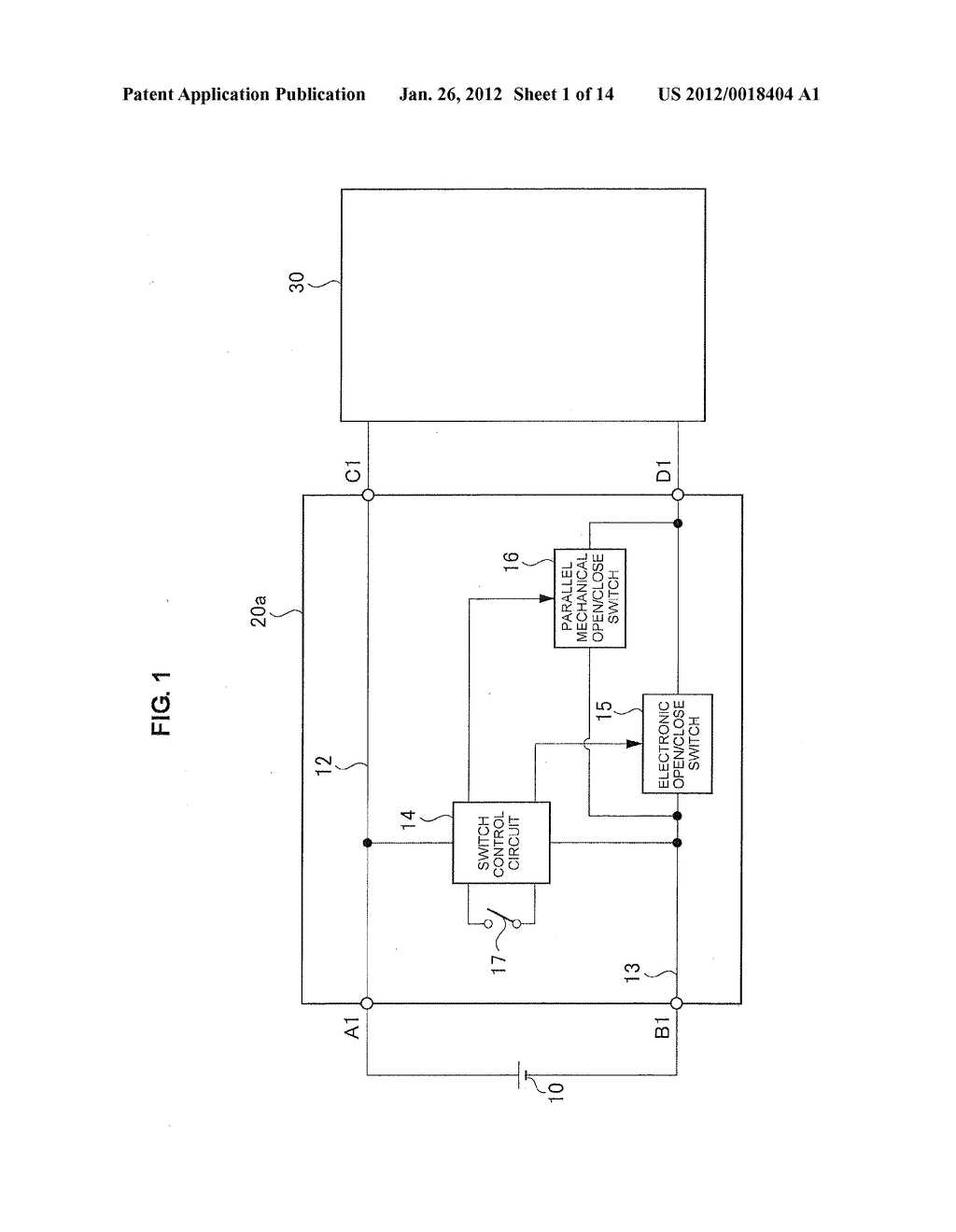 DIRECT-CURRENT SWITCH - diagram, schematic, and image 02