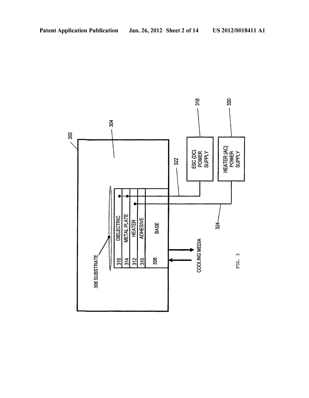 APPARATUS FOR SPATIAL AND TEMPORAL CONTROL OF TEMPERATURE ON A SUBSTRATE - diagram, schematic, and image 03