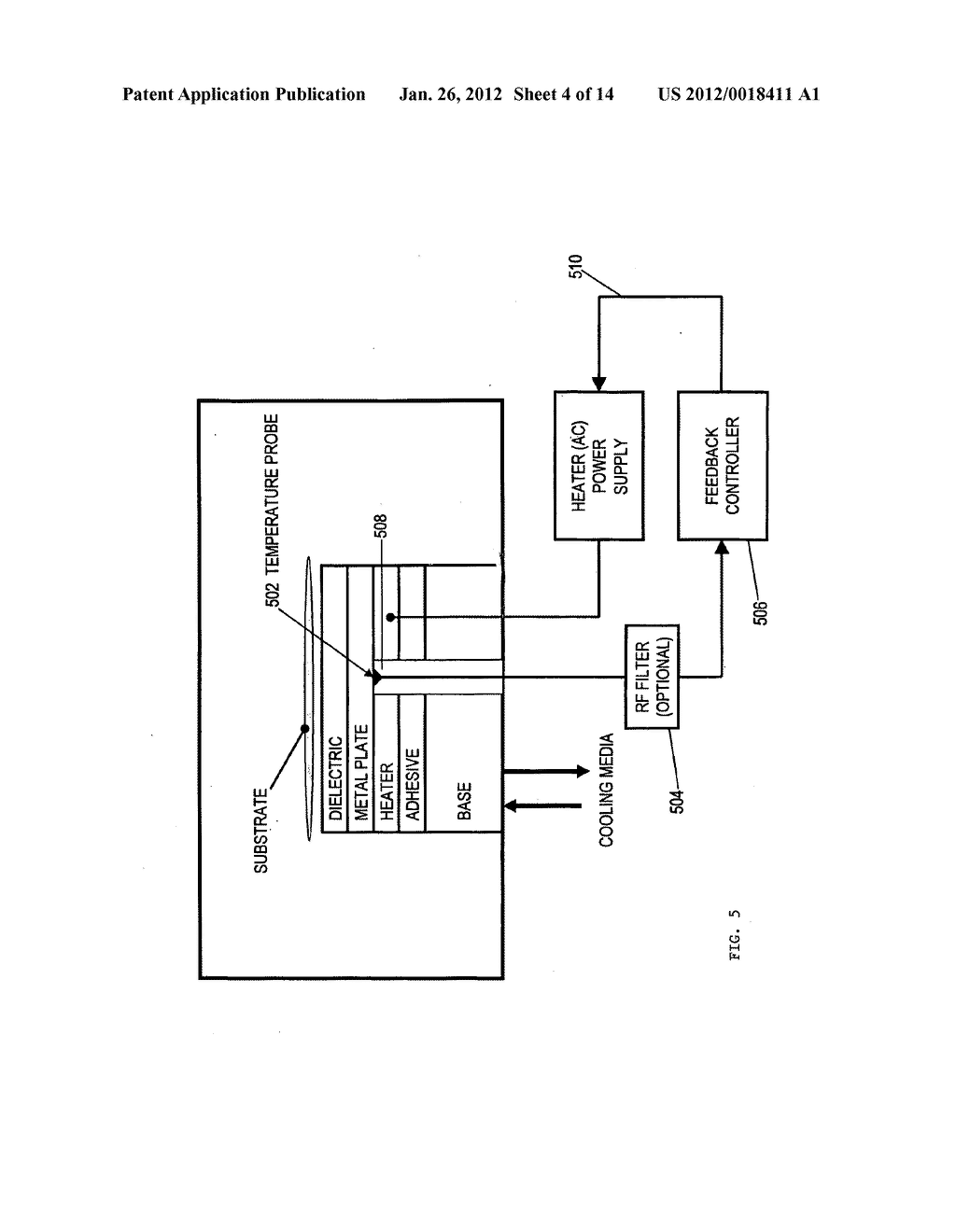 APPARATUS FOR SPATIAL AND TEMPORAL CONTROL OF TEMPERATURE ON A SUBSTRATE - diagram, schematic, and image 05