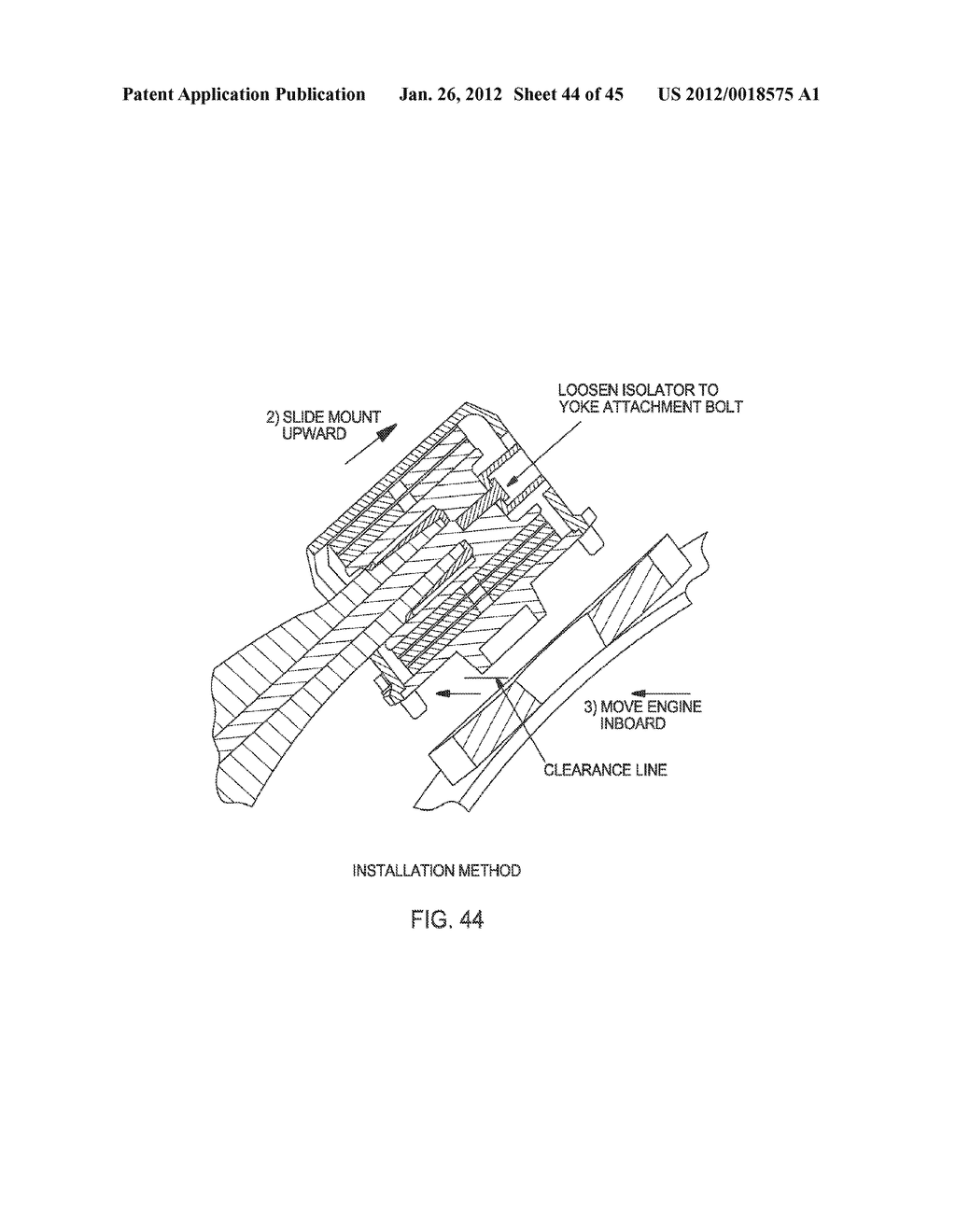 Engine Mounting Diagram Wiring Library Aircraft System And Method Of Engines Schematic