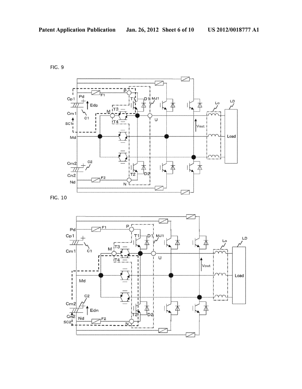 THREE LEVEL POWER CONVERTING DEVICE - diagram, schematic, and image 07