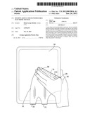 Holding Article For Hand-Holdable Electronic Devices diagram and image