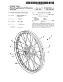 SPOKED WHEEL FOR TUBELESS TIRES diagram and image