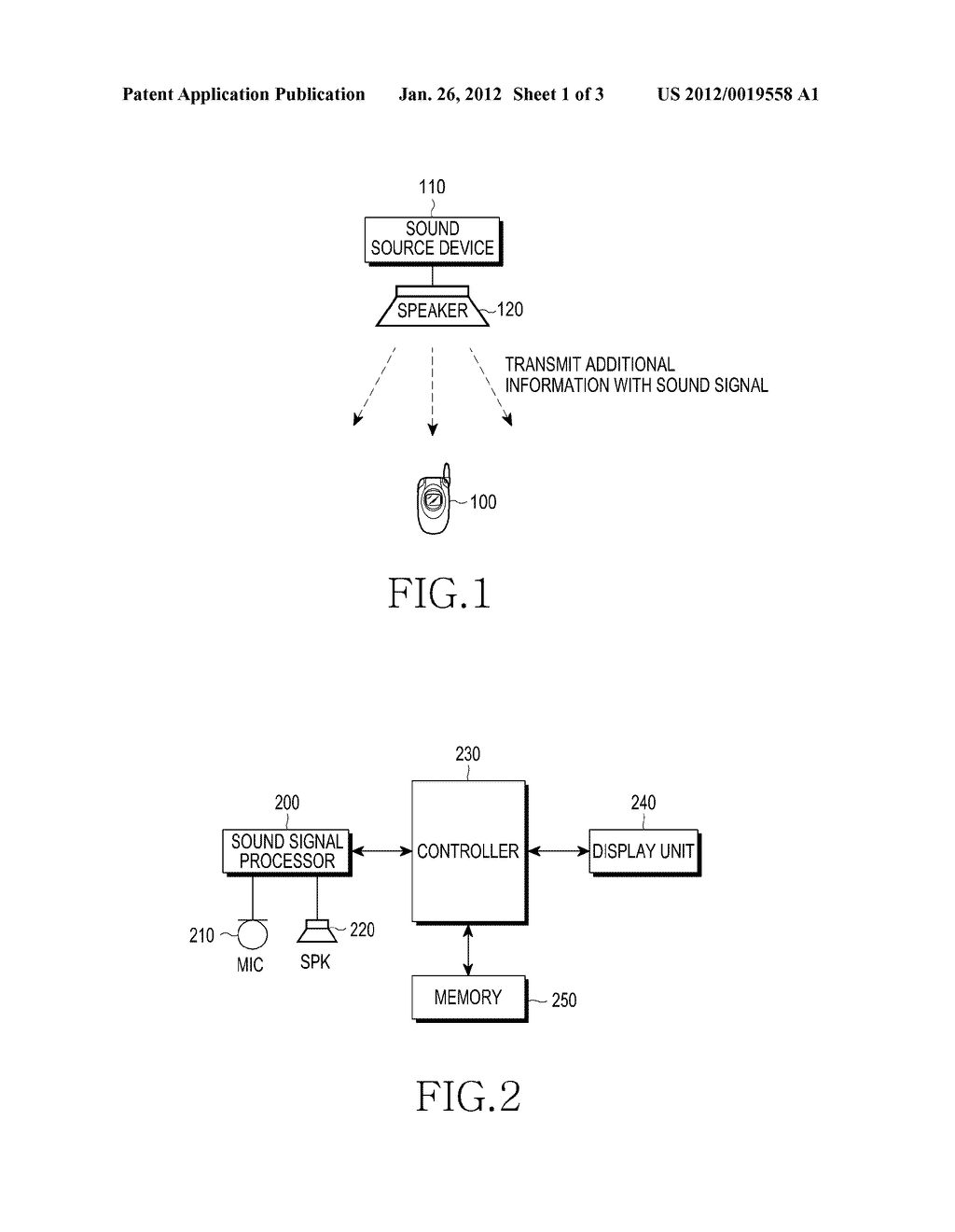 APPARATUS AND METHOD FOR PROVIDING AUGMENTED REALITY SERVICE USING SOUND - diagram, schematic, and image 02